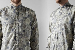 Albam Club Collar Floral Print Shirt