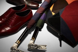 Burberry Carved Handle Umbrellas