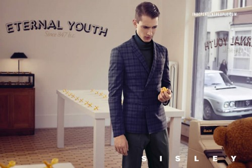 Sisley Autumn/Winter 2012 Advertising Campaign