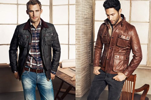 H.E. By Mango Autumn/Winter 2012 Men's Lookbook