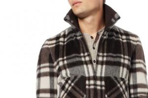 Dolce & Gabbana Plaid Wool-Blend Bomber Jacket