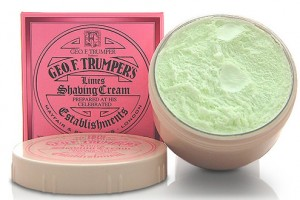 Geo F Trumper Extract of West Indian Limes Shaving Cream Bowl