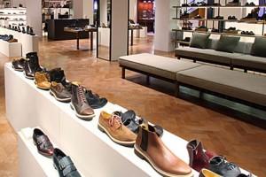 Selfridges Men's Shoe Department
