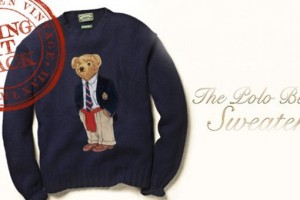 Ralph Lauren To Reintroduce Polo Bear Sweater