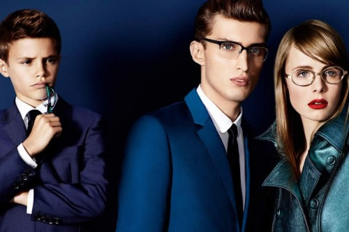 Burberry Spring/Summer 2013 Eyewear Advertising Campaign