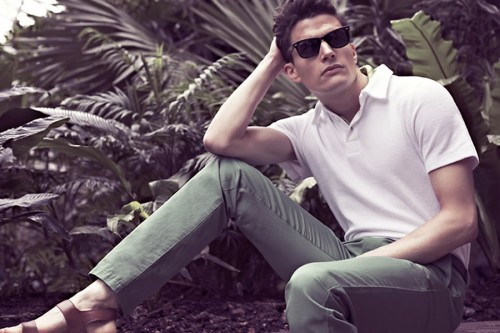 Reiss Spring/Summer 2013 Back To Nature Men's Lookbook