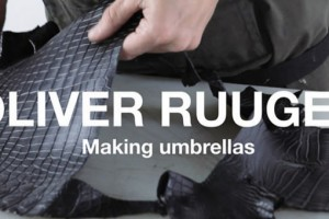 OLIVER RUUGER FOR LNCC MAKING UMBRELLAS