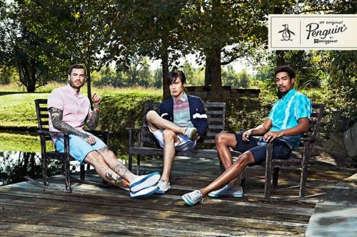 Original Penguin Spring/Summer 2013 Advertising Campaign