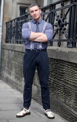 Joseph, Photographed in Edinburgh<br/> Click Photo To See More