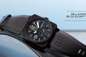 Bell & Ross BR 03-51 GMT-TWG Watch