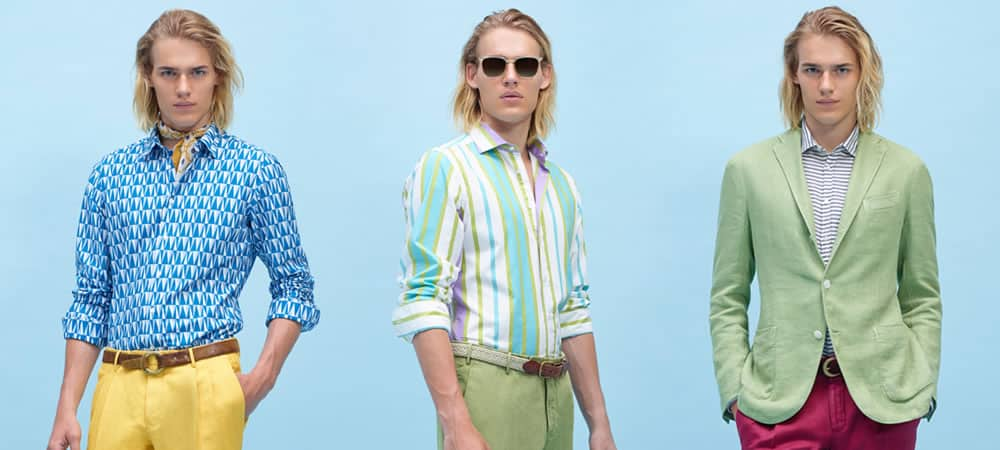Ways To Wear Coloured Chinos: Spring/Summer 2015