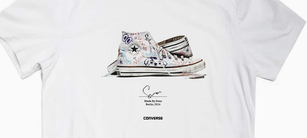Converse x Urban Outfitters 'Made By You' T-Shirts