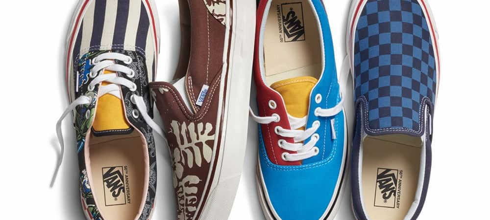 Vans Is Reissuing These Classic Styles For Its Birthday