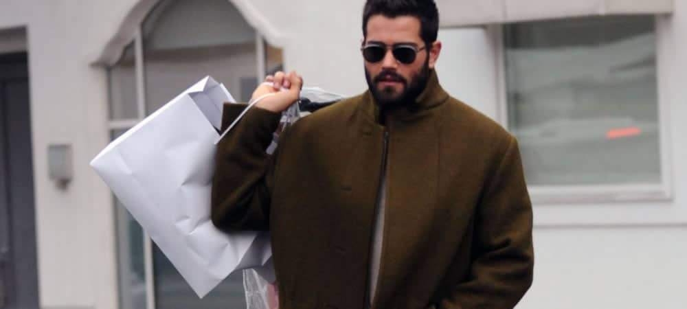 Jesse Metcalfe Nails The Statement Overcoat Trend