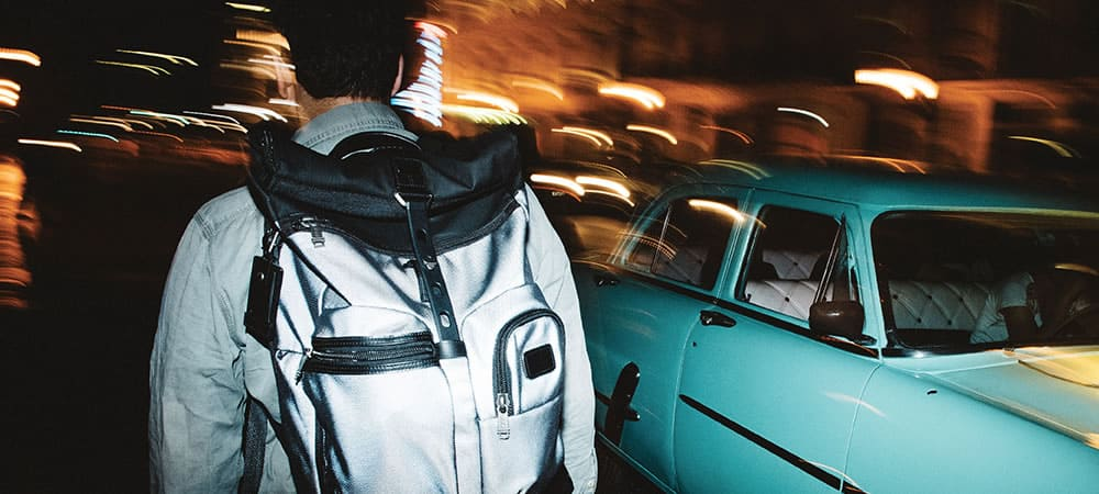 Competition: Win A Tumi Reflective Backpack & Carry-On Case