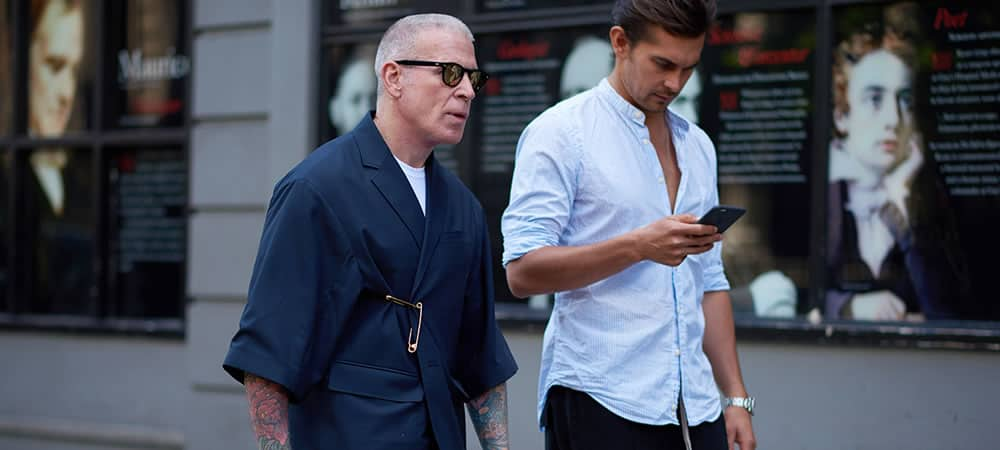 Street Style Gallery: London Fashion Week Men's SS18