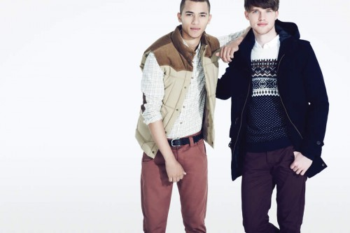 Debenhams Autumn/Winter 2012 Men's Lookbook