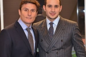 Gagliardi Announce Partnership With Javier Zanetti