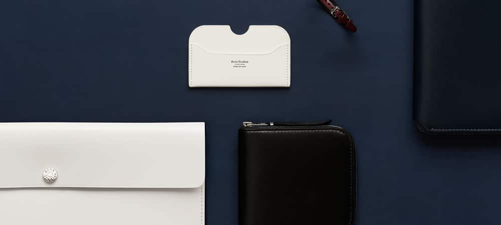 Acne Studios Launches Small Leather Goods