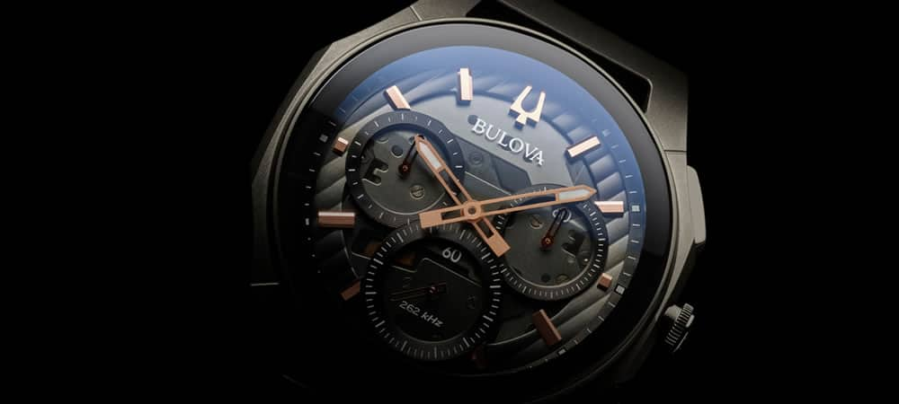 Bulova To Launch World's First Curved Chronograph Watch