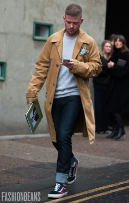 Street Style Gallery: London Fashion Week Men's AW17
