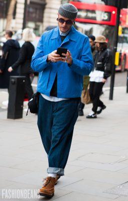 Street Style Gallery: London Fashion Week Men's AW18