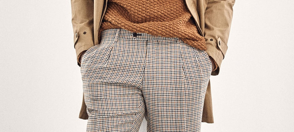 How To Wear Check Trousers Without Looking Like A Golfer